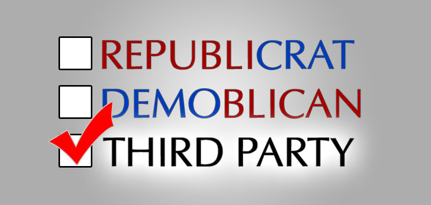 Is Voting Third Party A Wasted Vote?