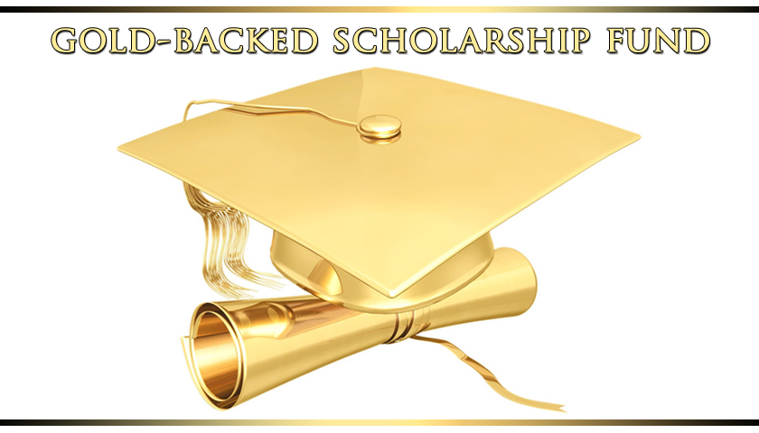 Gold-Backed Scholarship Helps Students Cope with Runaway Tuition Inflation