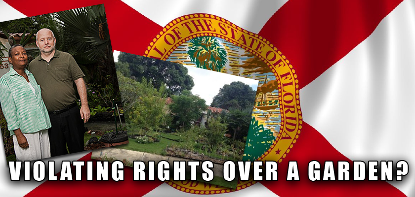 Violating Rights Over a Garden?