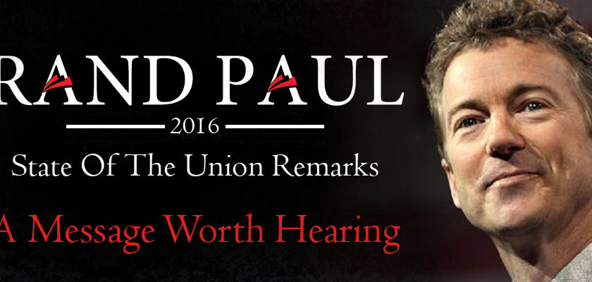 Rand Paul Responds to The State of the Union